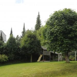 Der Garten im Haus Macheiner