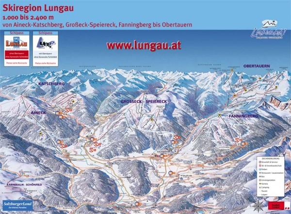 Skigebiete der Skiregion Lungau